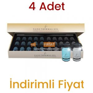4 Adet Nano Termal Jel Beauty Solutions