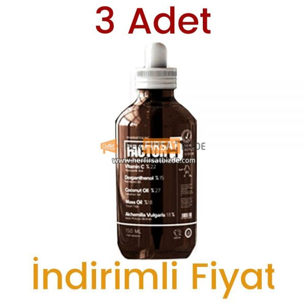3 Adet Factor 5 Skin Serum 3 x 150 ML