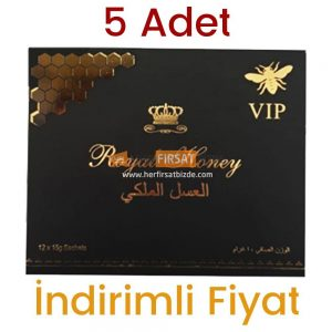 5 Adet Royal Honey Bal