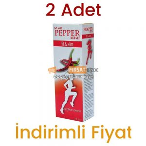 2 Adet So Well Pepper Red Gel 2 x 220 ML