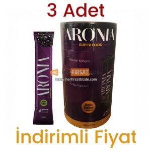 Aronia Super Food 3 Kutu 45 Şase x 15 ml