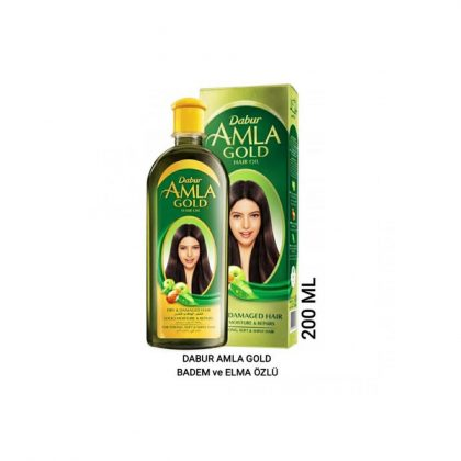 Dabur Amla Gold Badem ve Elma Özlü 200 ML
