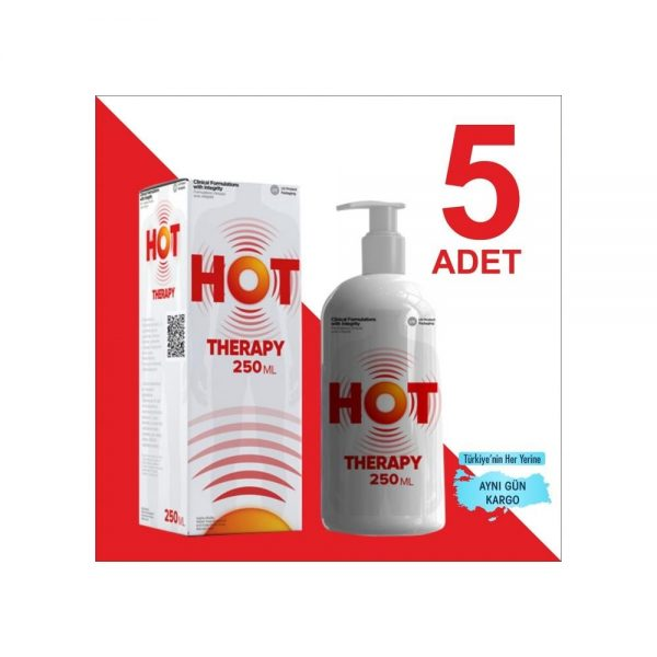 HOT THERAPY 250 ML ( 5 ADET )