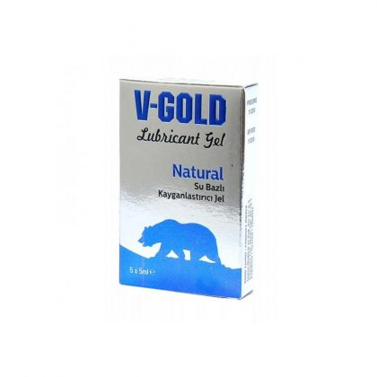 V-Gold Natural Lubricant Gel 5x5 ml.1 kutu