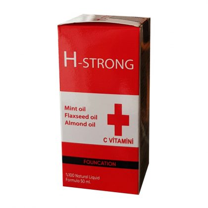H - Strong H Strong Tonic 50 ml Mango Aromalı