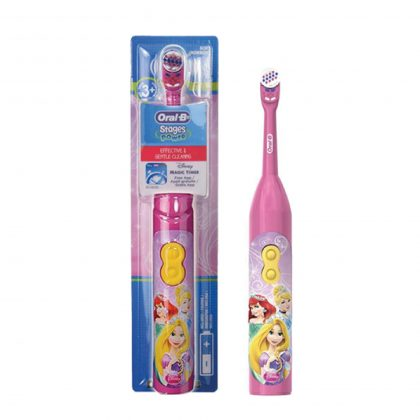 Oral B Stages Power Çocuk Pilli Diş Fırçası Frozen Princess 3+ Ay