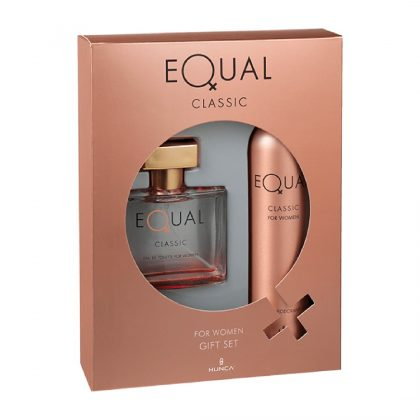 Equal Bayan Kofre Set Edt 75ml + 150ml Deodorant Classic